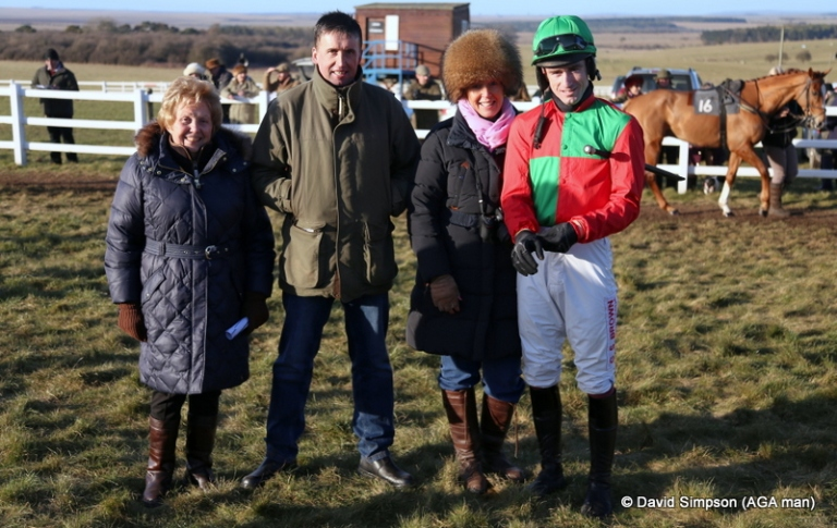 Go on then, just one more! I was admiring the hat that Helen Stoneman is wearing so that's my excuse for this photo!