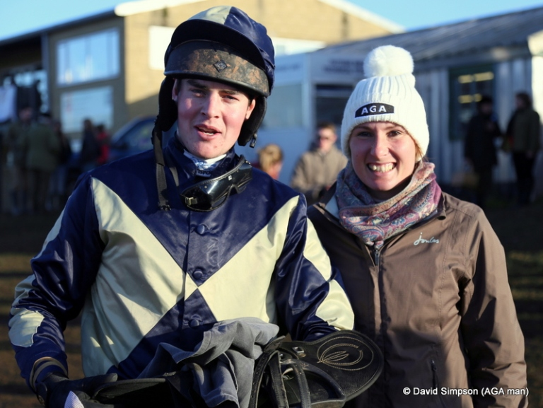 It's Leanda again - she's rivalling Biddick for blog pictures - this time with our favourite Welsh boy, John Mathias!