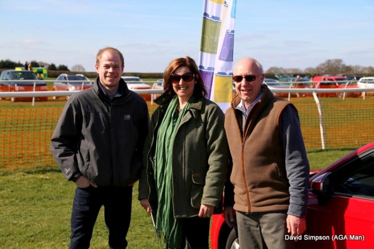 Some of my AGA colleagues, L-R: Mark Fitzpatrick (AGA Rangemaster Head Office), Jo Pennington (AGA shop Vale Farm), Alan Hatt (AGA shop Nottingham)