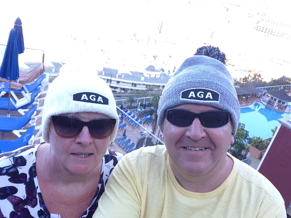 We didn't Go Pointing the following weekend, the AGA championship had a break and so did we, although we did take the AGA hats!