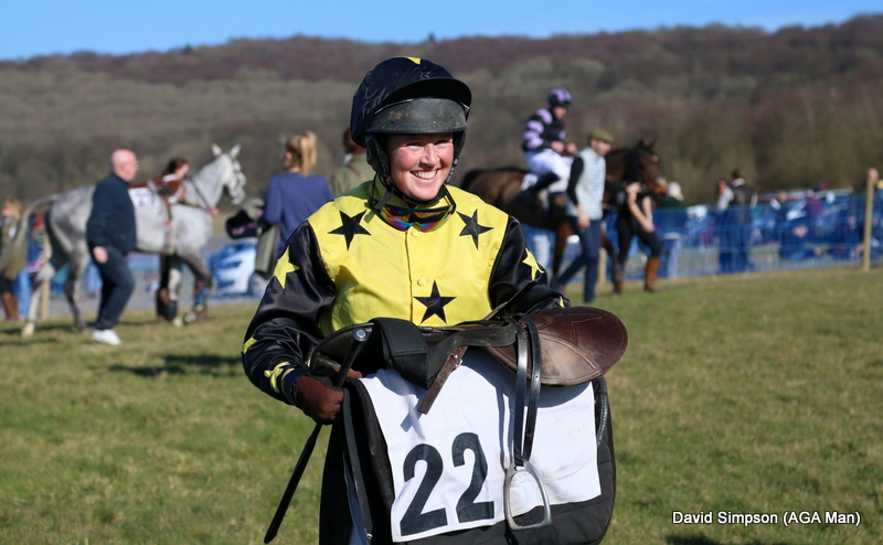 Emily Harbour lights up the paddock with her smile