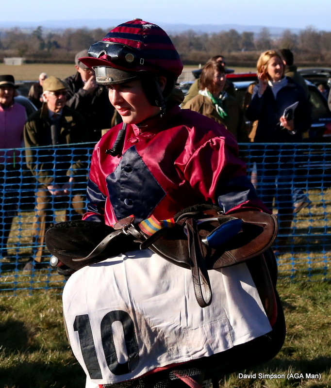 Gina Andrews has just won her 2nd AGA sponsored race of the season (her 5th overall)