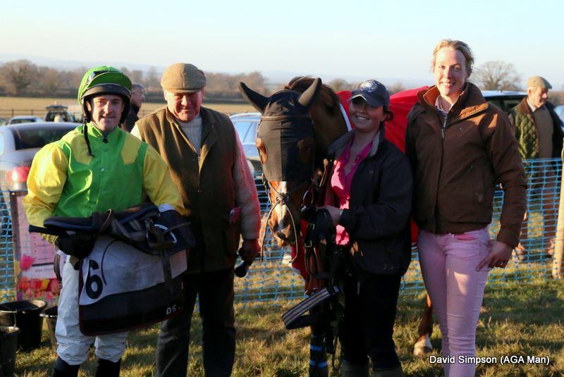 The Connolly's RED MILLS Intermediate was won by Full Trottle for Laura Thomas, Sam Painting did the steering
