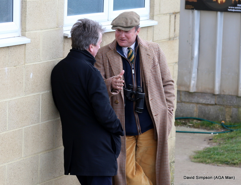 It was good to see respected horse-racing correspondent, Alan Lee, from The Times (left)
