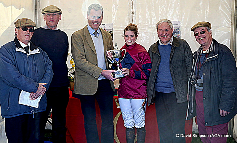 Another impressive win for Start Royal and Gina Andrews in the Ladies Open, Big Al loves this horse!