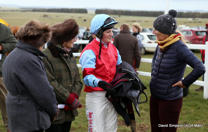 Ally Stirling - who was 2nd on Seigneur Des Bois - has a post race debrief