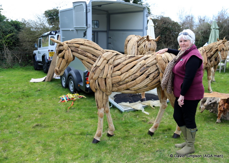"""I want a horse"". ""Here you go"" said Mrs S!"