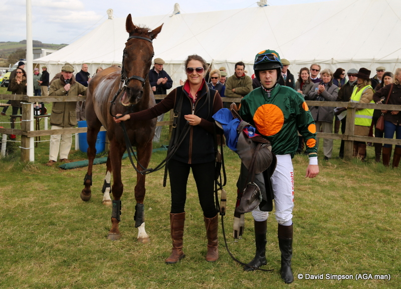Ballycassel has just won the Hunt Members for Guy Disney