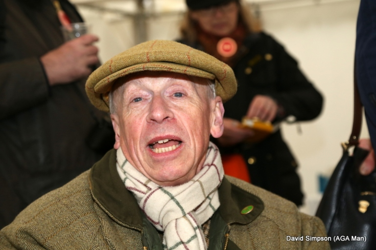 One of the best dressed men in pointing, Derek Freathy