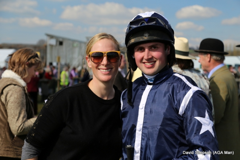 Zara Phillips and Tom David