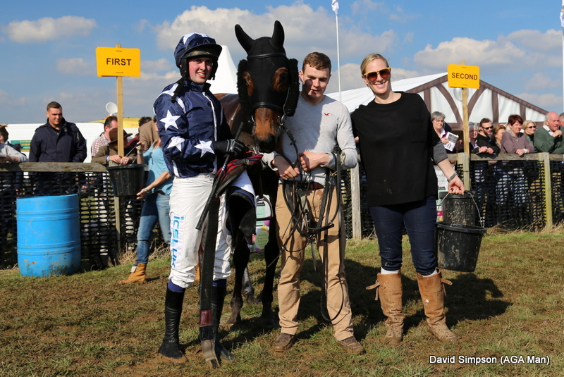 A short head victory in the Open Maiden was consolation for a neck defeat in the Restricted
