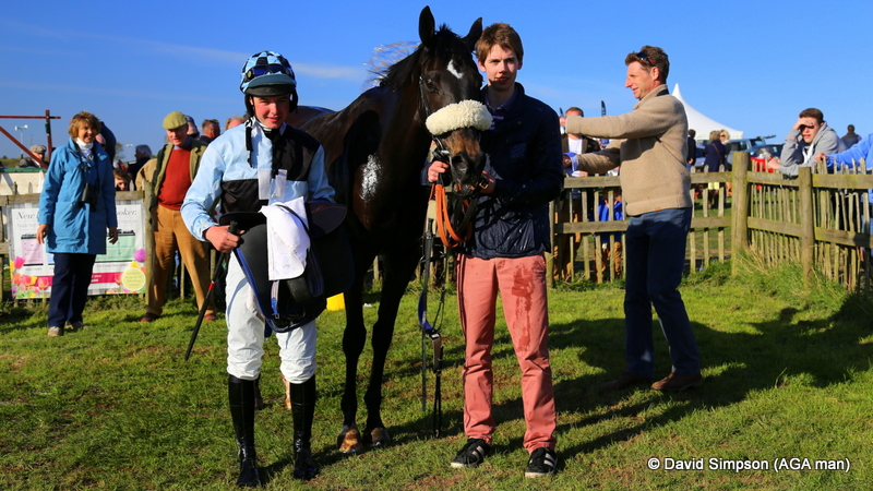 North Hill Harvey, winner of the AGA sponsored Open Maiden