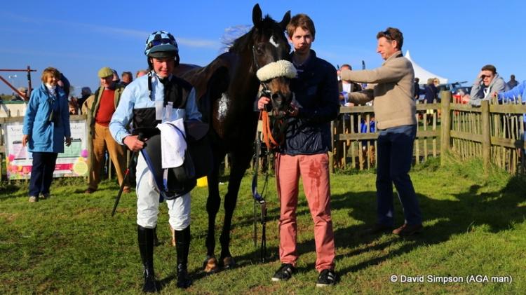 North Hill Harvey, winner of the AGA sponsored Open Maiden