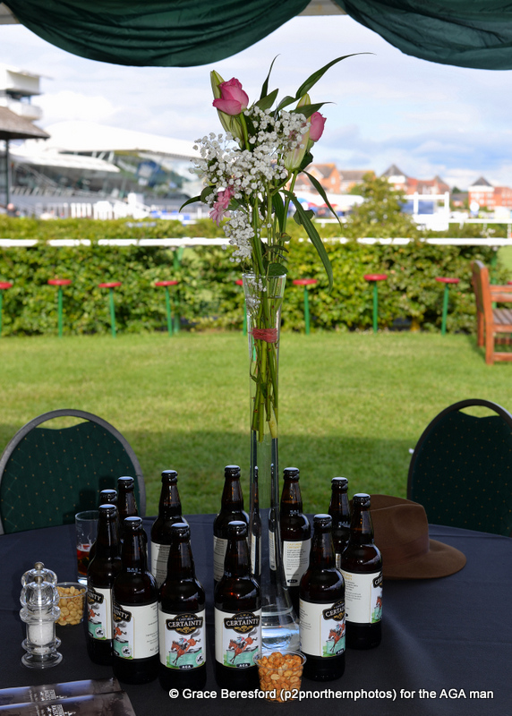 And the view was superb from our new location overlooking the parade ring
