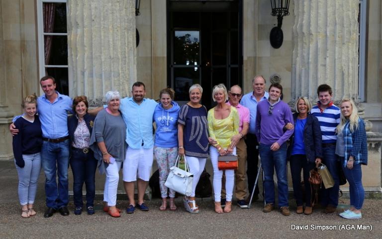 Team photo at Luton Hoo.
