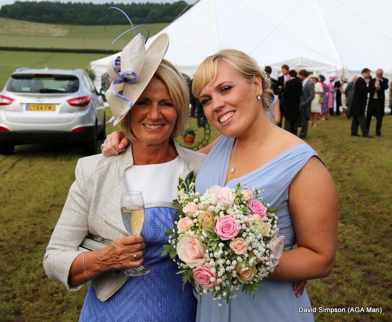Mum and daughter, beautiful!