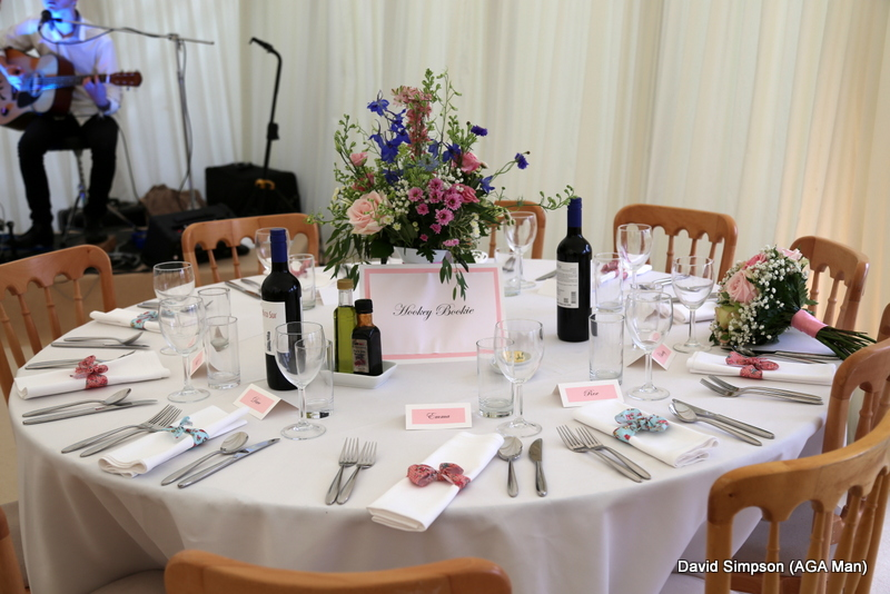 The tables looked amazing.