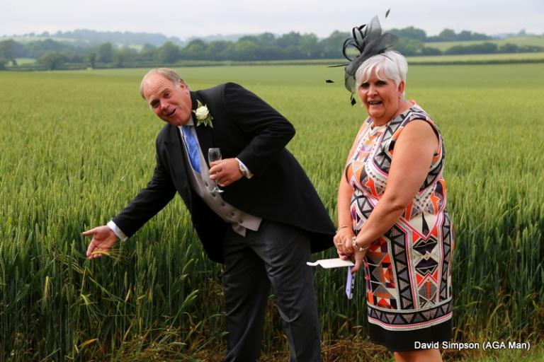 Big Tone also got his point across... it's a farming joke!