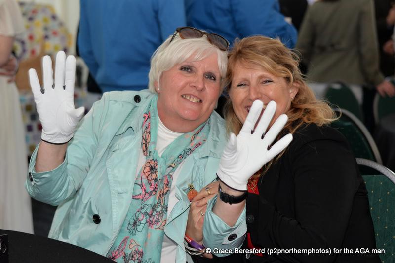 Mrs S loved those gloves!