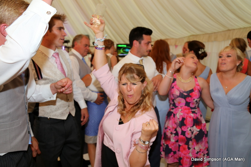 And then Lawney hit the dance floor... but more of that later!