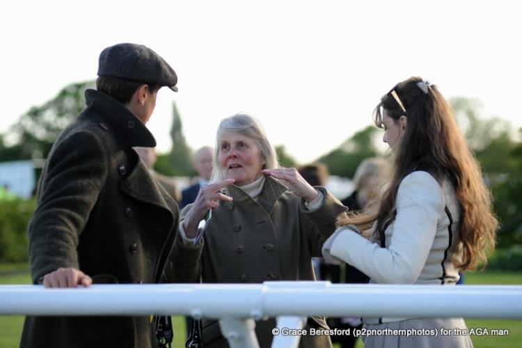 Jane' mum, Diana Williams, was rather pleased