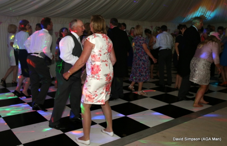 Action from the dance floor!
