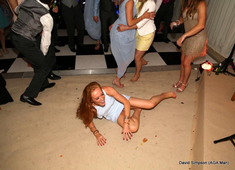 Woman down!