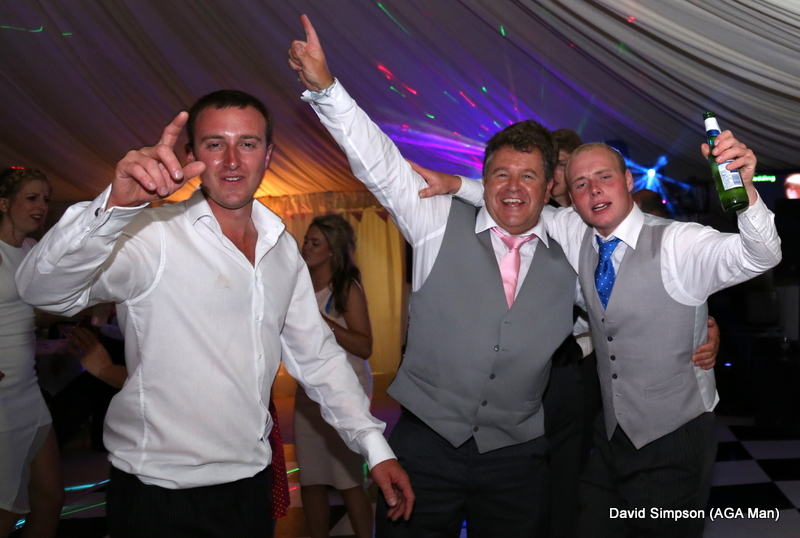 Who let the AGA man loose on the dance floor?