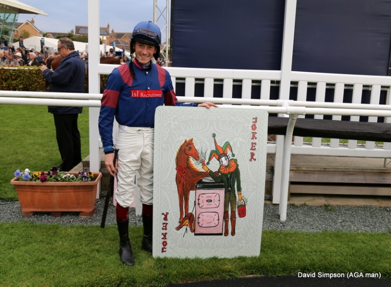 The jokers have the seal of approval from the jump boys, including Sam Twiston-Davies, number one jockey to Britain s champion jumps trainer Paul Nicholls