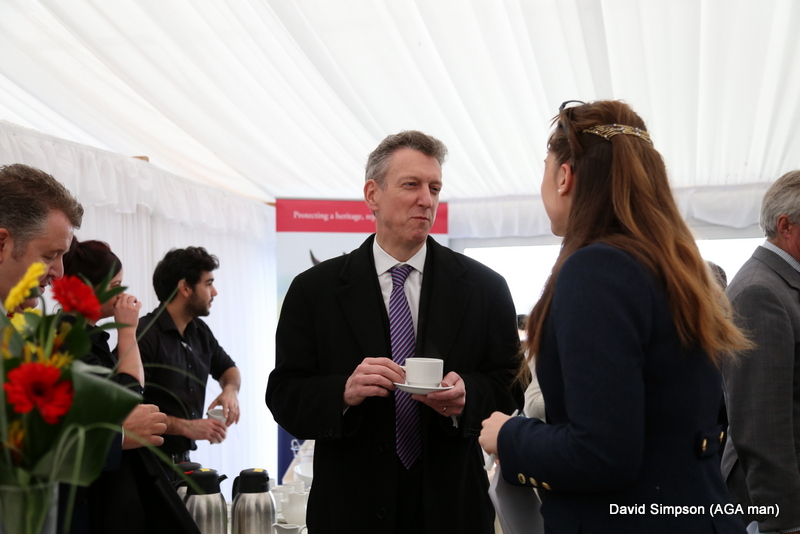William McGrath (AGA Rangemaster Group CEO) chats to Steph Holmes, who is handling the PR and Media for Subaru UK P2P
