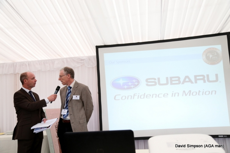Hopefully the Subaru brand will become as synonymous with point-to-point racing as the AGA brand