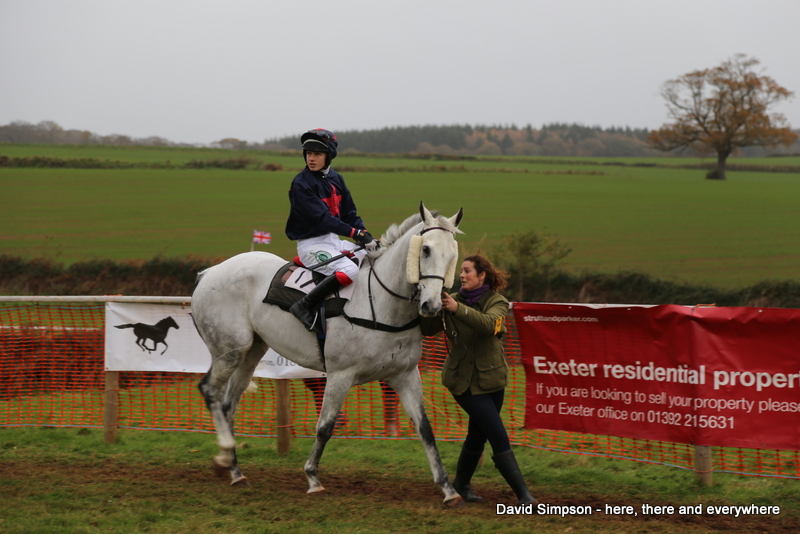My first sight of this partnership on a point-to-point racecourse, the mighty Argentato and Jordan Nailor