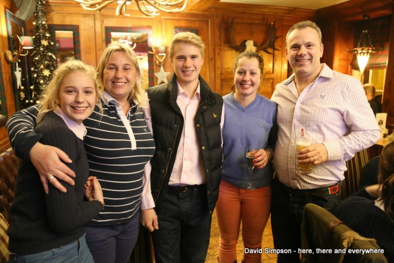 Celebrations continued in the pub with the Nailor family and the happy trainer (Claire Hart)